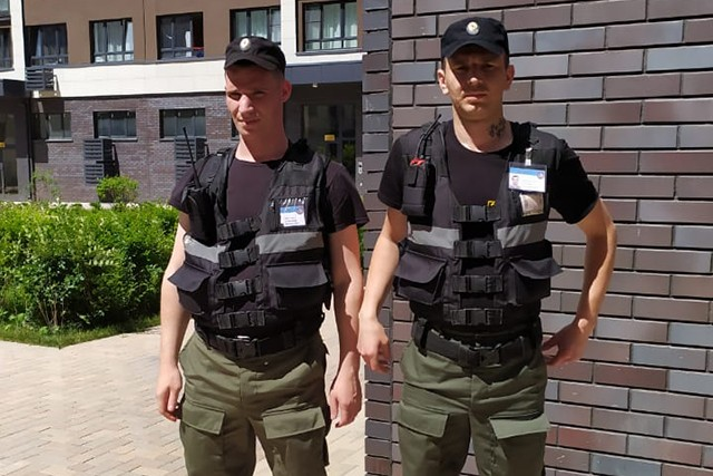 Охрана порядка в ЖК«Скандинавия»